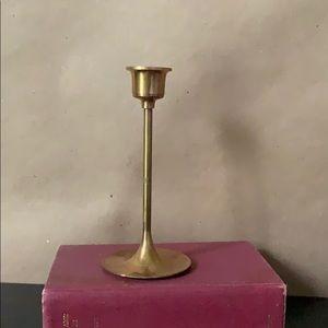 Slender Metal Vintage Candlestick